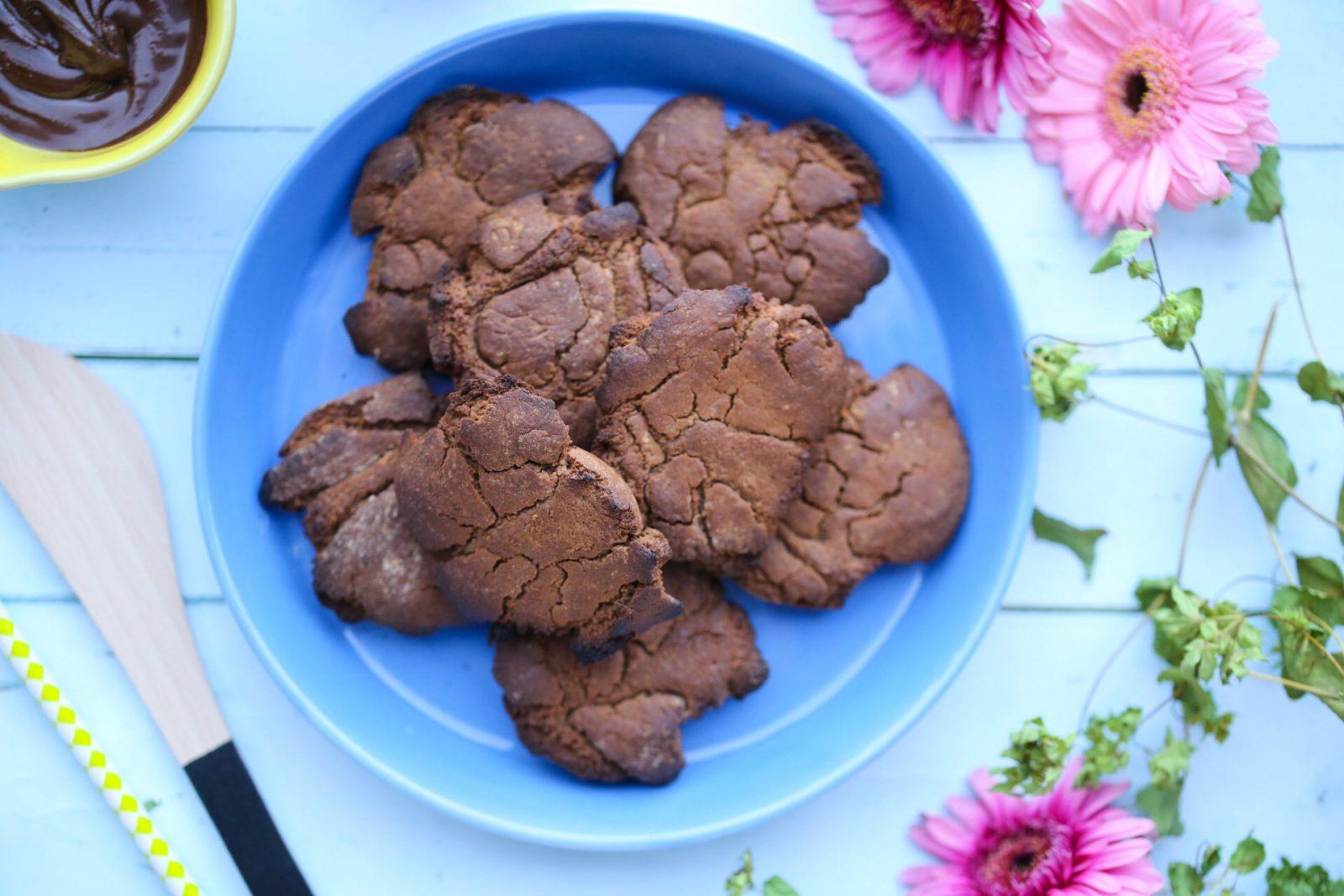 Sukkerfri nutella cookies