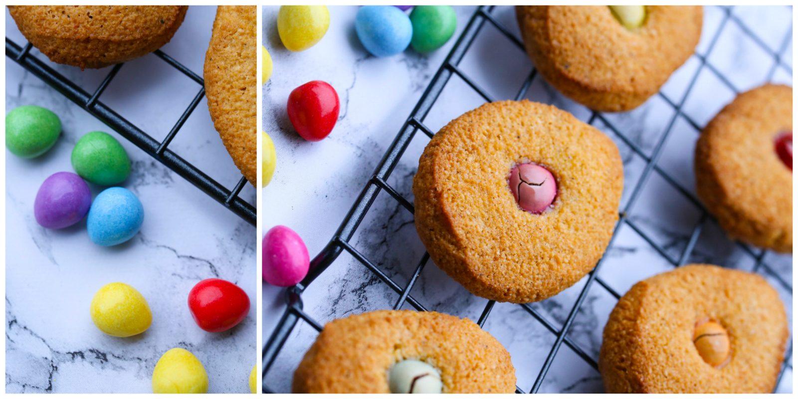 LcHf; påskecookies - 3 ingredienser
