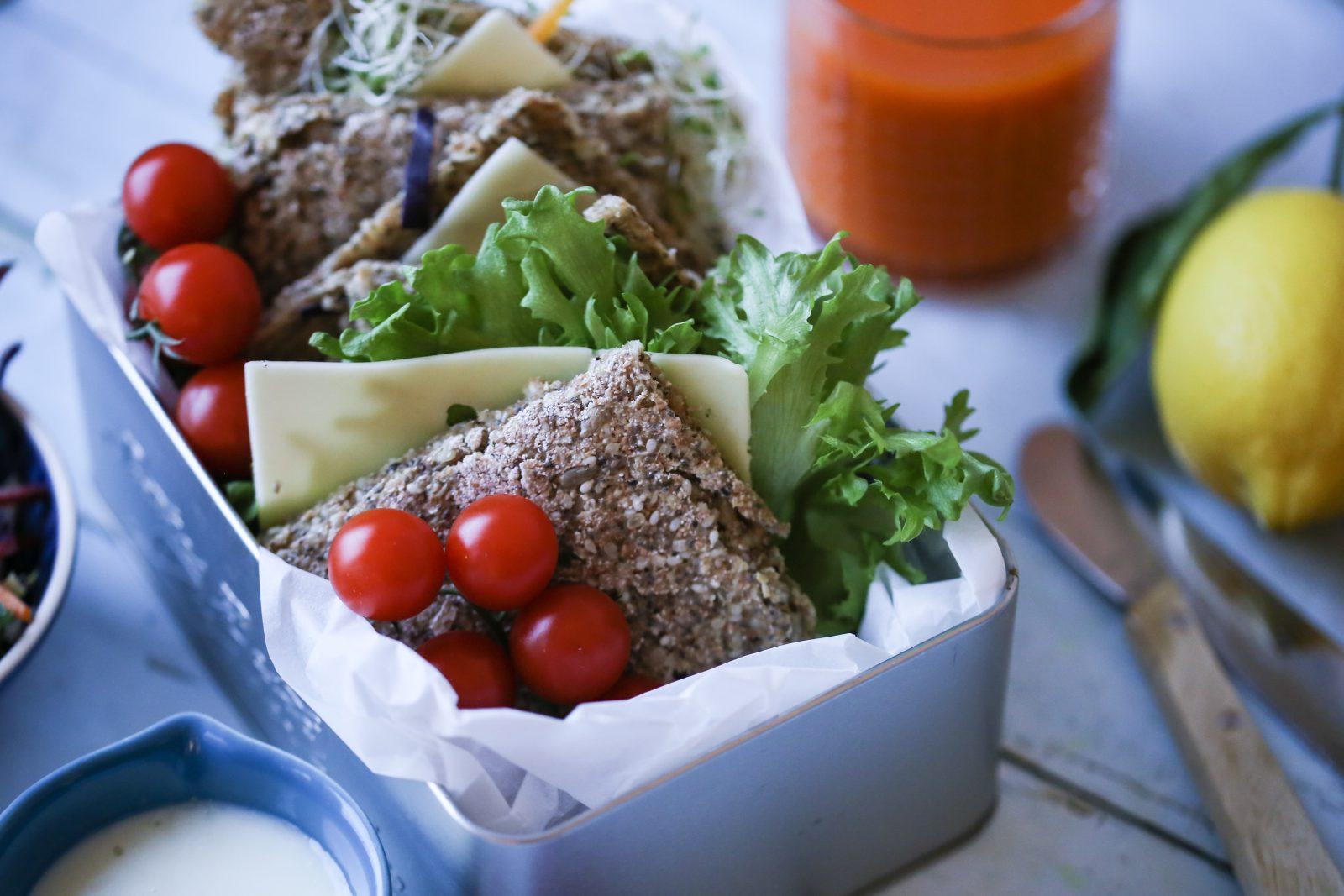 Proteinbrød uten egg og melk